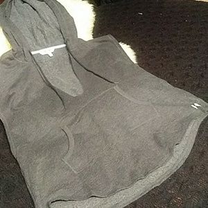 Victoria's secretary short sleeve hoodie sz lg